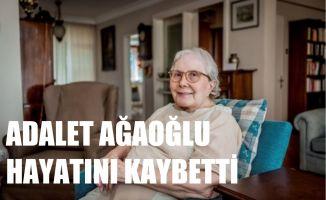 Edebiyatımızın En Önemli Kadın Yazarlarından Adalet Ağaoğlu Hayatını Kaybetti