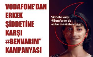 Vodafone'dan Erkek Şiddetine Karşı Kırmızı Işık'la #BenVarım Kampanyası