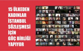 15 Ülkeden Kadın Örgütleri İstanbul Sözleşmesi İçin Güç Birliği Yapıyor