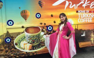 Gizem White, Turkish Coffee Lady Markasıyla Türk Kahvesini Dünyaya Tanıtıyor