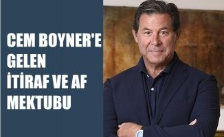 Cem Boyner'e Gelen İtiraf ve Af Mektubu