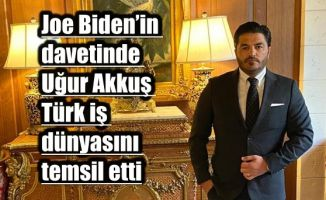 ABD Başkanı Joe Biden'in Davetine Türkiye'den Katılan Tek İş İnsanı