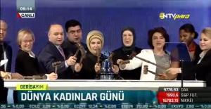 Emine Erdoğan Borsa Gongunu Kadın Erkek Eşitliği İçin Çaldı