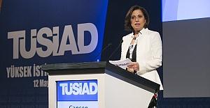"""TÜSİAD Başkanı Cansen Başaran Symes:""""172 maddelik program etkili şekilde uygulanmalı"""""""