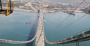 Deprem olursa Osman Gazi Köprüsü alarm verecek