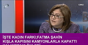 """Fatma Şahin; """"Komutanın konuşması değişince iş makinalarını kışlaya yığdık"""