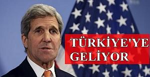 ABD Dışişleri Bakanı Kerry, Türkiye'ye geliyor
