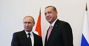 Tarihi buluşma; Erdoğan-Putin yan yana