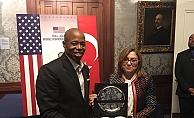 Fatma Şahin, ABD'de Türkiye'yi anlattı