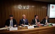 Ekonomi Bakanı Zeybekci, TÜSİAD'ta iş insanlarının sorunlarını dinledi