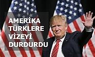 ABD, Türklere vizeyi askıya aldı