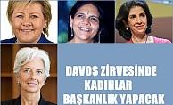 7 kadın Davos'un 2018 zirvesine başkanlık edecek