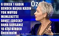 """Alvemedica Yönetim Kurulu Başkanı Leyla Alaton;""""Benden başka kadın yok muydu?"""""""