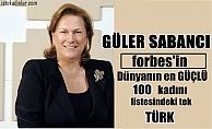 Güler Sabancı, Forbes'in dünyanın en güçlü 100 kadını listesindeki tek Türk oldu