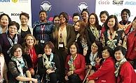 KADEM Başkanı Sare Aydın Yılmaz, Roma'da FCEM kongresine katıldı