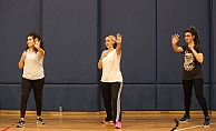 Kadir Has'da kız öğrenciler savunma tekniklerini öğrendi