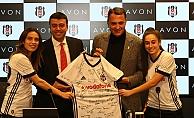 Beşiktaş Kadın Futbol Takımı'nın ana sponsuru artık Avon