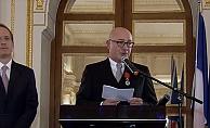 Ferit Şahenk'e, Fransa'dan Legion D'Honneur nişanı