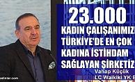 """LC Waikiki- Vahap Küçük,""""Türkiye'de en çok kadına istihdam sağlayan şirketiz"""""""