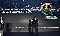 Aksa'ya futbol dünyasından enerji ödülü