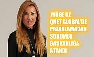 Müge Uz, QNET Global'de Pazarlamadan Sorumlu Başkan oldu