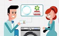 Vestel ve P&G'den Türkiye'de bir ilk: Tek tuşla deterjan siparişi