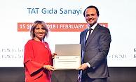 Kadınlarla Güçlendirilmiş Yönetim Kurul Ödülünü, TAT Gıda kazandı