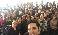 Mert Fırat, kadın girişimcilerle buluştu