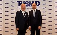 """TÜSİAD Başkanı Bilecik; """"Kısa vadede yükselen faizler ekonomiyi soğutucu etki yapıyor"""""""