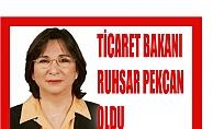 Ticaret Bakanı Ruhsar Pekcan oldu, Ruhsar Pekcan kimdir?