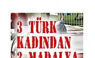 Para Atletizm Şampiyonası'nda 3 Türk kadın sporcudan 3 madalya