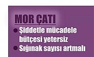 """Mor Çatı; """"Kadına yönelik şiddetle mücadelede bütçe yetersiz, sığınaklar artırılmalı"""""""
