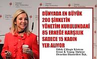 """Dilek Çilingir Köstem, """"En büyük 200 şirketin yönetim kurulunda bile 85 erkeğe karşılık sadece 15 kadın yer alıyor"""""""