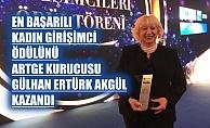 TİM-TEB, 'En Başarılı Kadın Girişimci' ödülünü Artge kurucusu Gülhan Ertürk Akgül kazandı