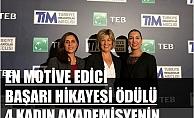 TİM-TEB, 'En Motive Edici Başarı Hikâyesi Ödülü'nü 4 kadın girişimcinin 'Dermis Pharma'sı aldı