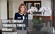 Serpil Timuray'dan 2 müjdeli haber. Timuray, Vodafone Grubu Avrupa Bölgesi CEO'su olarak atandı, HERoes listesinde