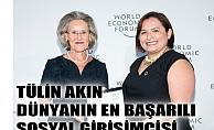 Tülin Akın, dünyanın en başarılı sosyal girişimcisi seçildi