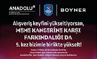 """Boyner'den meme kanseri farkındalığı için """"Pembe Top Sahada"""" projesine destek"""
