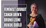 Kadın hakları için mücadele eden Canan Arın'a Bruno Leoni Hukuk Ödülü