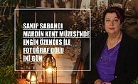 Sakıp Sabancı Mardin Kent Müzesi'nde Engin Özendes ile fotoğraf dolu iki gün