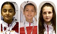 İspanya'da Nehir Geniş ve Şefika Çakal gümüş, Özge Özbey ise  bronz madalya kazandı