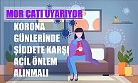"""Mor Çatı; """"Koronavirüs Günlerinde Kadına Şiddeti Durdurmak İçin Acil Önlemler Alınmalı"""""""