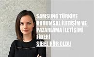 Samsung Türkiye'de Sibel Hür'e Üst Düzey Atama