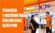 Teknosa Mağazaları 1 Haziran'dan İtibaren 'Önlemlerle' Birlikte Açılıyor