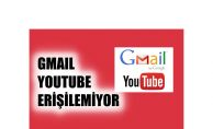 Google'de Sorun, Gmail ve Youtube'da Hizmet Aksadı
