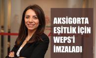 Aksigorta, Toplumsal Cinsiyet Eşitliği için WEPs'i İmzaladı