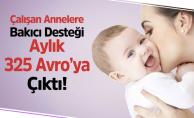 Çalışan Annelere Eğitimli Bakıcı Desteği Aylık 325 Euro'ya Yükseltildi