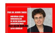 Prof.Dr. Berrin Tansel, AAEES Bilim Ödülünü Kazandı