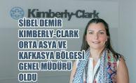 Kimberly-Clark Türkiye'deki Sibel Demir'e Globalde Görev