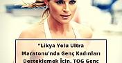 Ece Vahapoğlu, TOG Genç Kadın Fonu için maraton koşacak